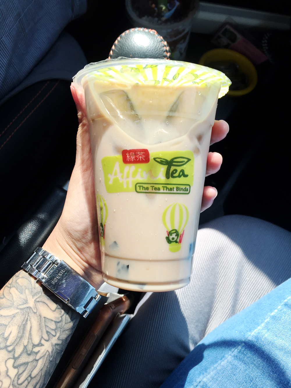 Empress milk tea (Php115)