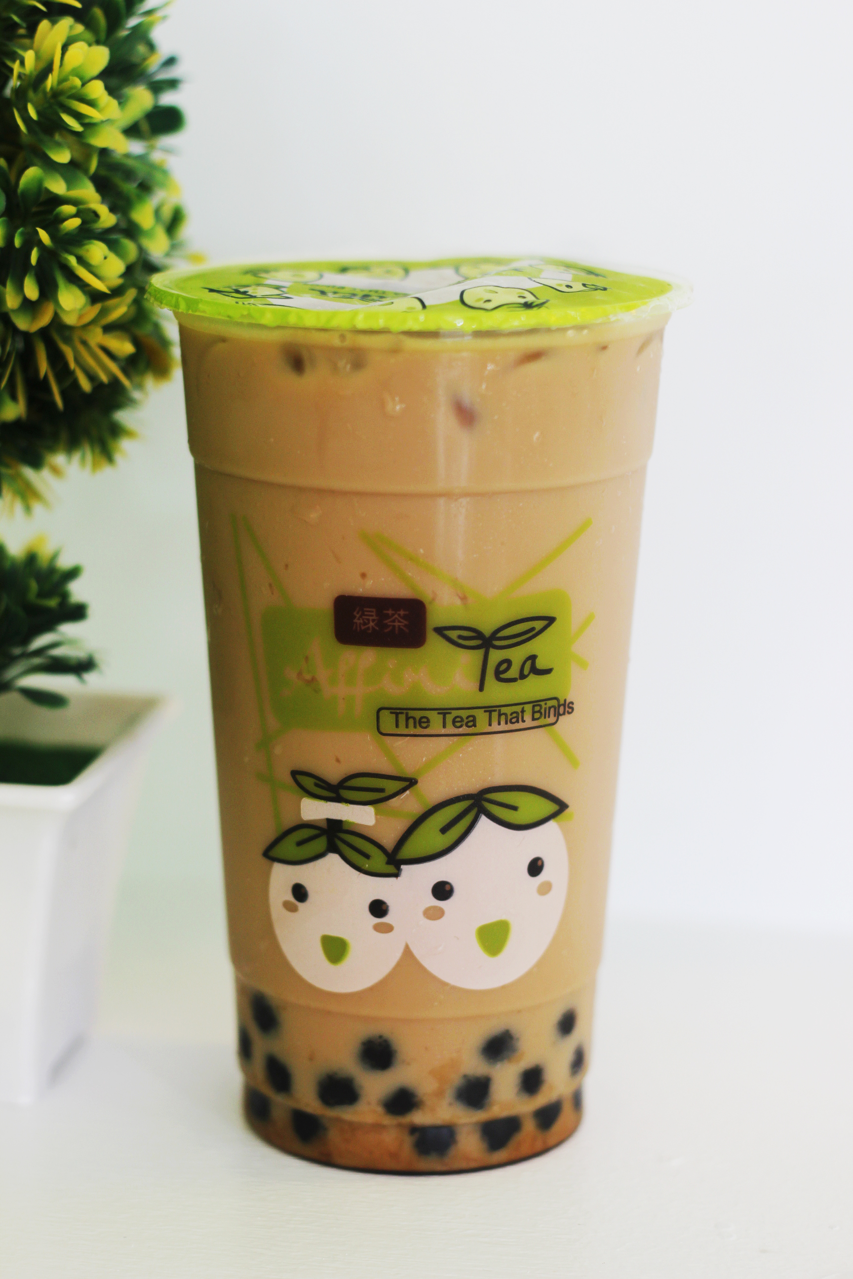 Wintermelon milk tea with pearl (Php115)